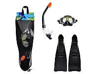 Набор для плавания Surf Rider Intex 55959 (маска, трубка, ласты) ZN