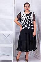 Трехъярусная юбка с рюшами АЛИНА