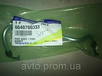Трубка топливная 2.0 №3 EU III SsangYong  Kyron , Actyon 6640700333, фото 1