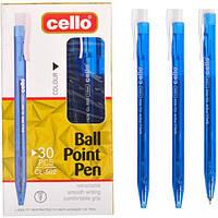 Ручка масляная Cello CL-502 синяя (арт.CL-502)
