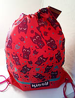 """Сумка для обуви   CF85716 """"Kitty"""" красная"""