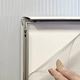 Алюминиевый рамочный профиль 4741 для клик системы 32мм, фото 3
