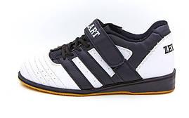 Штангетки обувь для тяжелой атлетики Zelart PU OB-4594 (40 р в OF), фото 3