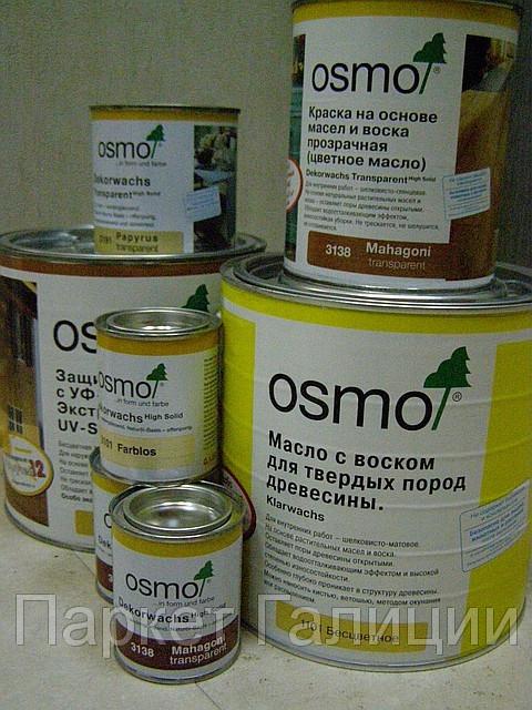 Масло-воск Осмо 2,5л глянцевое 3011 бесцветное