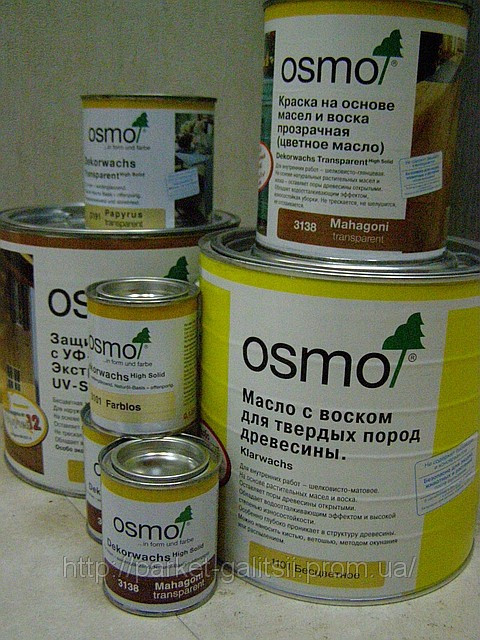 Osmo масло 0,75л глянцевое 3011