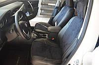 Авточехлы экокожа+алькантара для Audi A-3 (8P) Coupe 2003-13г.