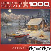 """Пазл Eurographics """"Уютное Рождество"""", 1000 элементов"""