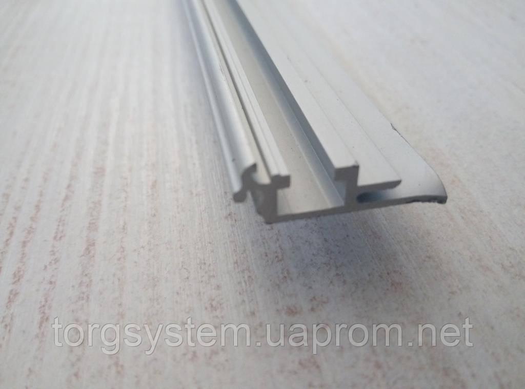 Алюмінієвий рамочний профіль 2872 база для клік системи 25мм