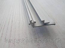 Алюминиевый рамочный профиль 2872 база для клик системы 25мм