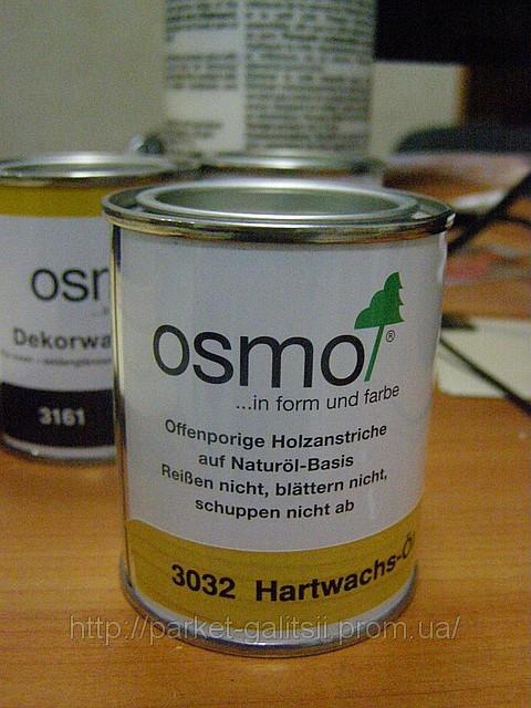 Прозрачное матовое масло для паркета 0,125мл ТМ Осмо 3062