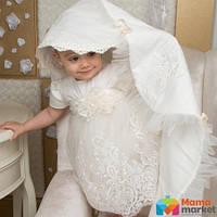 Крыжма для крещения Mimino Вероника, цвет белый