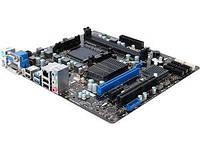 Материнская плата MSI 760GMA-P34 (FX) (AM3+, AMD 760G, PCI-E 2.0 x16) бу