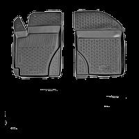 Коврики в салон автомобиля для Volkswagen Transporter передние (90-) (L.Locker) (пара)