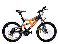 Скоростной подростковый велосипед Azimut Tornado D 24