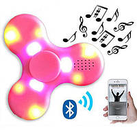 Светящийся музыкальный спиннер LED Bluetooth Music Speaker Hand Fidget Spinner  Спиннер-колонка