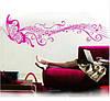 Виниловая наклейка,бабочка,ноты музыка, фото 5