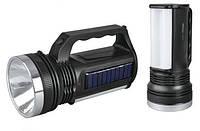 Фонарик ручной YJ 2836T+solar
