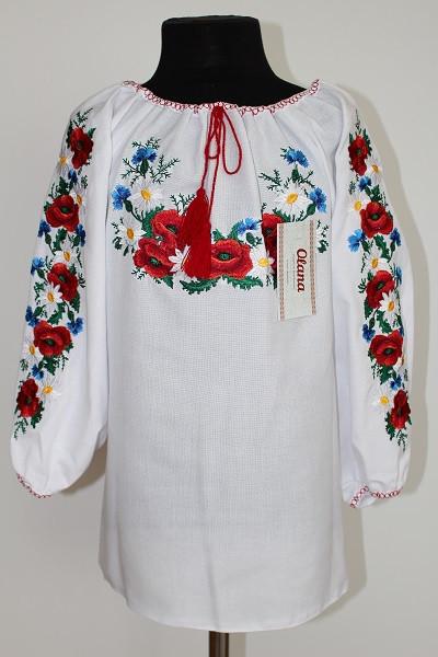 Вишиванка для дівчинки  Орися полотно - Nikashop в Киеве 79af0ca2d1e70