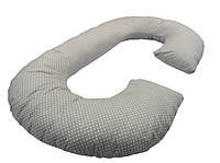 Подушка для беременных «J» образная с наволочкой Горошок (PDV-J3)