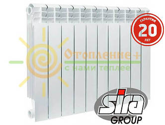 Биметаллический радиатор Sira Concurrent 500х85