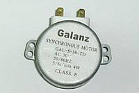 Двигатель привода тарелки для микроволновки 30V GALANZ GAL-5-30-TD, фото 1