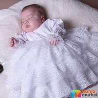 Платье крестильное Mimino Белла, цвет белый