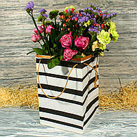 Упаковка для букетов и вазонов большая 21365-07