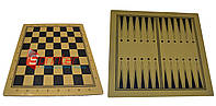 Доска деревянная для шахмат и шашек 30*30