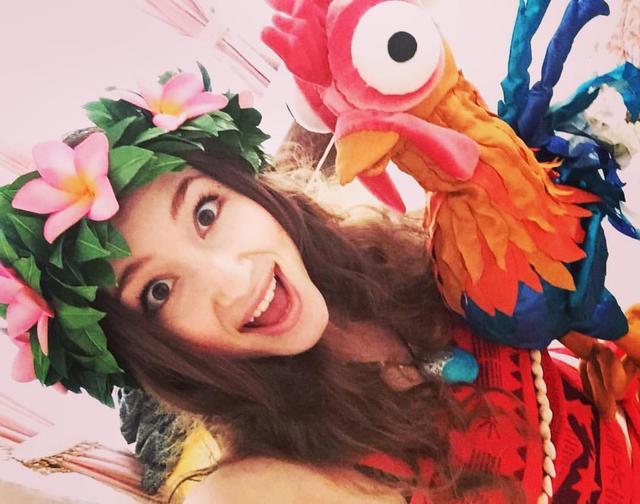 Принцесса Моана Киев,аниматоры на гавайскую вечеринку,день рождения с Русалочкой Ариель Киев
