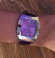 Часы женские наручные Geneva New Style (фиолетовые)