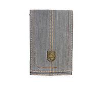 Чехол-карман Golla Phone Wallet Scarp (G1065) Gray Denim поліестер + бавовна