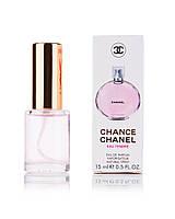 Мини-парфюм женский 15 мл Chanel Chance Eau Tendre
