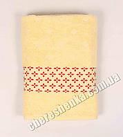 Махровое полотенце банное El (140*70) Желтый