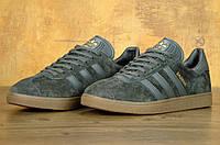 Кроссовки Adidas Gazelle grey/gum (Реплика ААА+)