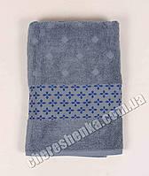 Махровое полотенце банное El (140*70) Серый