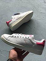 Кроссовки Adidas Stan Smith pink. Живое фото. Топ качество (Реплика ААА+)