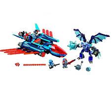 Конструктор Bela 10596 Нексо Найтс Самолёт-истребитель «Сокол» Клэя (Аналог Lego Nexo Knights 70351), фото 3