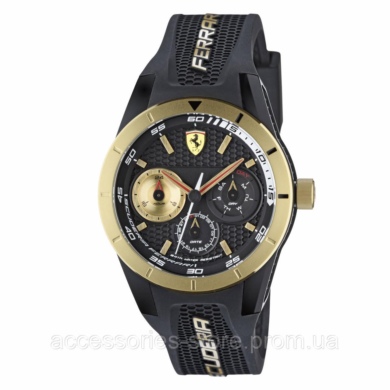 Многофункциональные часы Ferrari, RedRev T Multi-function Watch