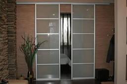 Межкомнатные раздвижные  двери купе (межкомнатные перегородки), фото 2