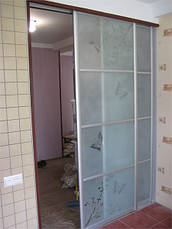 Межкомнатные раздвижные  двери купе (в гардеробные, кладовки), фото 3