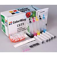 СНПЧ ColorWay Canon iP3600, MP540 /550/560/620/630/640, MX860/870/ 884, MG5140/5150, без чипов, без чернил