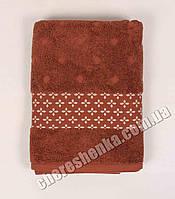 Махровое полотенце для лица El (90*50) Коричневый