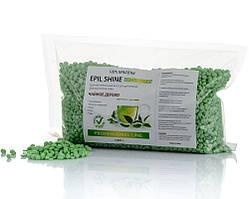 Горячий пленочный воск TM Elit-lab Зеленый чай 1 кг