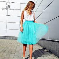 Юбка-пачка Breeze от бренда ANN, бирюзовая, фото 1