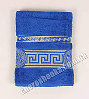 Махровое полотенце банное Ver (140*70) Синий