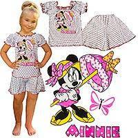 Летние детские пижамы с коротким рукавом р.26-34