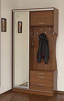 Прихожая Летро Таня-купе (Высокая) орех с зеркалом