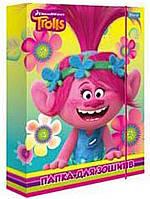 """Папка для тетрадей картонная В5 """"Trolls"""", 491298, 1 Вересня"""