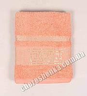 Махровое полотенце банное Ver (140*70) Персиковый