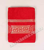 Махровое полотенце банное Ver (140*70) Красный
